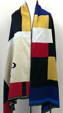 OP Scarf Wrap Shawl Color Block Very Soft Warm