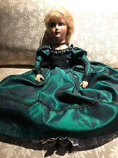 Antique Boudoir Doll Anita Style Beautifull Outfit 26 Inches Tall