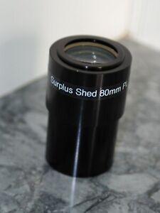 """Telescope Surplus Shed 80mm 2"""" Plossl Eyepiece"""
