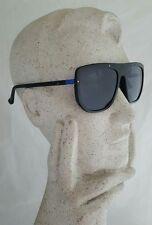 Calvin Klein CK1203S Unisex Black + Blue Sunglasses MSRP $160 **NEW+SHIPS FREE**
