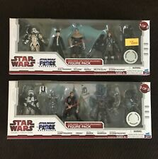 Star Wars Legacy Force Unleashed TRU Exclusive Figure Pack 1 & 2 MISB NEW