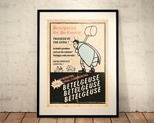 Beetlejuice. Limited Edition Print. 80s Cult Movie (Prints/Poster)