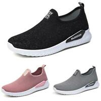 Women Running Sport Shoes Outdoor Breathable Athletic Sneakers Trainers Slip On