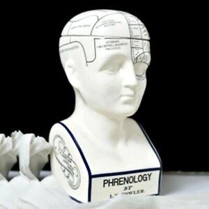 Luxury Ceramic Thinker Key Storage Box Sculpture Tabletop Home Office Decoration