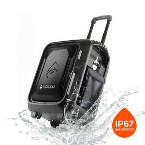 ECOXGEAR EcoBoulder+ IP67 Wireless Waterproof Outdoor Bluetooth Party Speaker