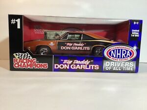 """New 1:18 1969 Charger 500. Don Garlits """"Hand Signed """".Limited Edition 1 of 1042"""