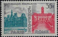 1959 Francia Gemel. Roma Parigi congiunta Gemella con Italia