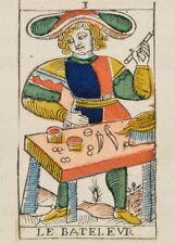 Tarot of Marseilles THE MAGICIAN Antique Tarot Card Reproduction Poster