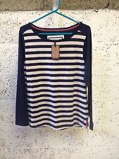 Boat Neck Striped Plus Size Jumpers & Cardigans for Women