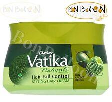 140ml Dabur Vatika Hair Fall Control Styling Cream With Olive Cactus Henna 132