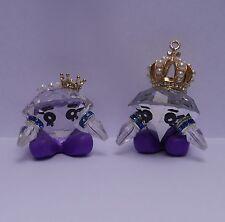 Rare!! Shopkins handmade Gemma Stone Queen & King 2pcs Set  HANDMADE