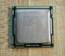 Intel  i7-870 2.93GHz Quad Core Processor Cpu LGA1156 SLBJG works Perfect!