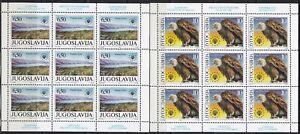 Yugoslavia 1990 European nature protection, Mini sheet, MNH