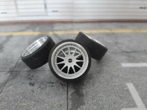 1:18 Scale HARTGE 18 INCH REAL ALU WHEELS, NEW! several colors available!
