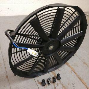 "1958-88 AMC 16"" Electric Radiator Cooling Fan 2803CFM 401 327 360 nash iron duke"