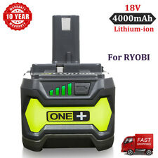 For RYOBI P102 18Volt Lithium-ion ONE+ 4.0Ah Battery Upgrade P104 P108 P107 P109