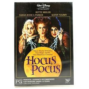 Hocus Pocus Bette Midler, Sarah Jessica Parker DVD R4 Good Condition