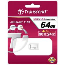 kQ Transcend Jetflash 710S USB 3.1 / 3.0 64 GB USB Stick TS64GJF710S