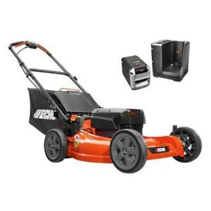 ECHO 21 in 58-Volt Brushless Lithium-Ion Cordless Battery Walk Behind Push Lawn