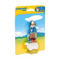 Playmobil 1-2-3 Shepherd With Sheep Building Set 6974 NEW IN STOCK