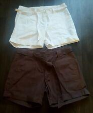 Dorothy Perkins Algodón Pantalones Cortos Tamaño 14 X 2 Pares
