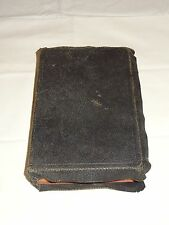 ATQ Holy Bible Revised Questions & Answers 1898 Teachers Edition Bagster Co