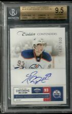 2011-12 Contenders Rookie Ticket Auto RYAN NUGENT HOPKINS #667/800 BGS 9.5 GEM