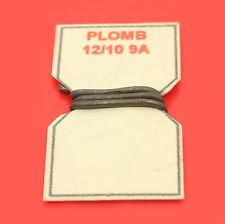 10 cm DE FIL DE PLOMB FUSIBLE 12/10° 9A POUR PORTE-FUSIBLE PORCELAINE VINTAGE