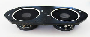 NEW! 1965 - 1966 Ford Mustang AM FM Stereo Dash Speaker Dual Type