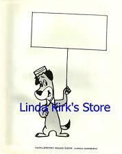 Huckleberry Hound Cartoon Sketch Photograph Hanna-Barbera TV Promo 1960s