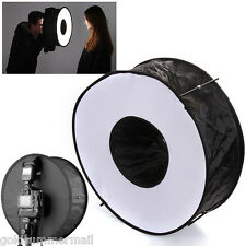 18in/45cm Photo speedlight Circular Ring RoundFlash diffuser Reflective softbox