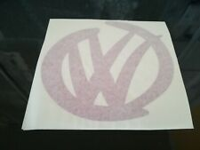 VW car/bumper/window sticker - purple