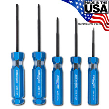 Channellock 5pc Precision Torx Star Screwdriver Set TP-5A T5 T6 T7 T8 T9 USA