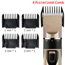 4 Pcs Guide Combs Hair Trimmer Clipper Limit Comb Cutting Guide Replacement WKV