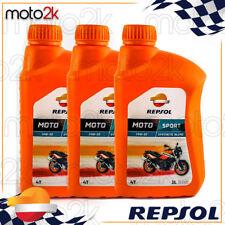 3L Aceite Motor Repsol Manillar Sintético Moto Sport 15W50 3 Litros 4T 4 Tiempos