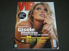 2008 NOVEMBER VIP PORTUGUESE MAGAZINE - GISELE BUNDCHEN COVER - O 7436