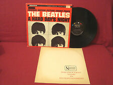THE BEATLES A HARD DAYS NIGHT 1ST PRESS STEREO UAS 6366 A 1-D / B 1-C VG+