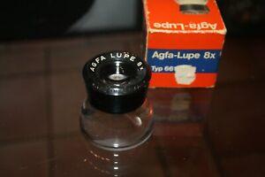 Vintage Agfa Lupe 8x