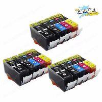 15PK PGI-220 CLI-221 Ink Cartridges for Canon Printer Pixma MX860 MX870 MP560