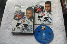 F1 CHALLENGE 99-02 PC CD-ROM V.G.C. FAST POST ( formula 1 management game )