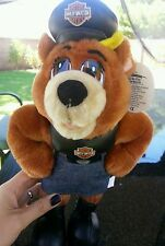 Genuine Licensed Harley-Davidson Stuffed Animal Biker Chick Bear