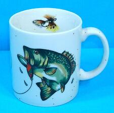 Dept 56 Lake Mug Lg Mouth Bass Fish