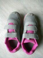 scarpa scarpe calzature tennis bambina 32 Lotto grigio rosa bianco strap bimba