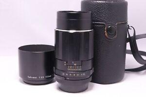 Takumar 135mm F3.5 M42 Screw Mount Manual Prime Lens (CASE) -BB 845-