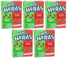5x Formally Wonka Wild About What A Melon And So Very Cherry Nerds 46.7g Sweets