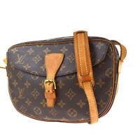 Auth LOUIS VUITTON Jeune Fille MM Shoulder Bag Monogram Leather M51226 31BS087