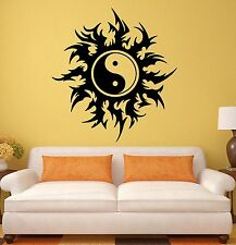 Wall Stickers Taoism Tao Yin Yang Taijitu Chinese Art Room Vinyl Decal (ig1697)
