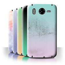 STUFF4 Back Case/Cover/Skin for HTC Desire HD/G10/Abstract Ombre