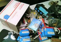 SURPRISE JUNK DRAWER MISTERY ELECTRONICS & Other Stuff LOT BOX TOO MUCH TO LIST