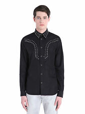 DIESEL BLACK GOLD SELVIS BLACK SHIRT SIZE 50 (L) 100% AUTHENTIC